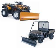 ATV Snow Plows & Buckets at TransAmerican Wholesale