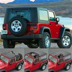 Hardtops - Jeep Hardtops - Tops - by Trans American Wholesale