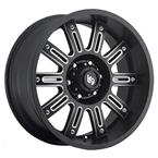 LRG102 Rims - Black Milled - LRG Rims - Aluminum Wheels - Wheels - by Trans American Wholesale