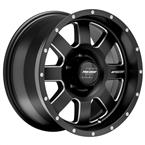 Pro Comp Alloy Series 73 - Satin Black - Pro Comp Xtreme Alloy Wheels - Aluminum Wheels - Wheels - by Trans American Wholesale