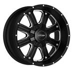 Pro Comp Alloy Series 5182 - Matte Black Machine - Pro Comp Xtreme Alloy Wheels - Aluminum Wheels - Wheels - by Trans American Wholesale
