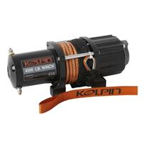 Kolpin Outdoors Winch - 4500 lbs - Synthetic Rope - 25-9455